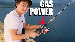 Download Gas Powered Fishing Pole Video