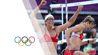 Download Women's Beach Volleyball Semi-Finals - USA v CHN | London 2012 Olympics Video