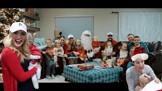 Download EARLY CHRISTMAS SURPRISE | EPIC FAM MAIL AND SANTA CAME TO OUR HOUSE! Video