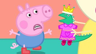 Download Peppa Pig English Episodes | George's Dinosaur's New Clothes | Peppa Pig Official Video