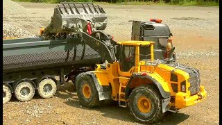 Download RC MACHINES WORK SO HARD! FANTASTIC VOLVO AND KIROVETS K700 ! Video