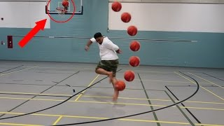 Download CRAZY BASKETBALL TRICK SHOTS!!! Video