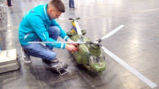 Download SUPER BIG RC HELI BICOPTER CHINOOK I 2. PLACE ON TV I Boeing-Vertol CH-47 I INTERMODELLBAU I Video