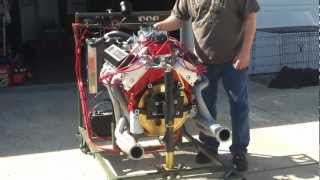 Download Engine test stand plans completed! Video