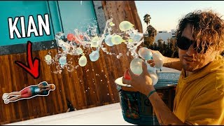 Download WATER BALLOON CHALLENGE (DROPPED FROM 3 STORIES HIGH!!!) Video