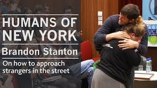 Download On how I approach strangers in the street | Humans of New York creator Brandon Stanton | UCD, Dublin Video