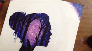 Download Galaxy Drawing || كيف ترسم المجرة Video