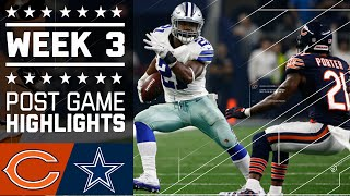 Download Bears vs. Cowboys | NFL Week 3 Game Highlights Video