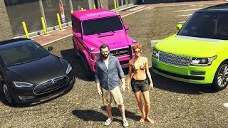 Download GTA 5 Real Life Mod #43 - BUYING MY GIRLFRIEND A NEW CAR!! (GTA 5 Mods) Video