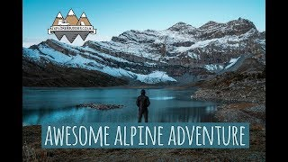 Download SPECTACULAR Swiss Alps HIKING Trail WILD CAMPING Tour Des Dents-Du-Midi Adventure with Scott Free Video