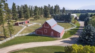 Download Remodeled Riverfront Ranch Property in Whitefish, Montana Video