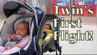 Download Twin's First Flight! - May 30, 2014 - itsJudysLife Daily Vlog Video