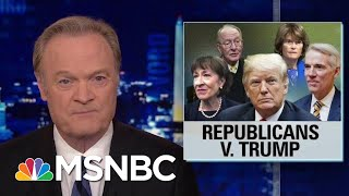 Download 2 Times In 2 Days Republicans Vote Against President Donald Trump | The Last Word | MSNBC Video