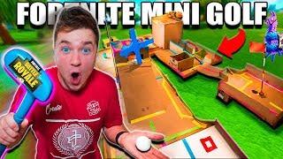 Download FORTNITE MINI GOLF BOX FORT!! 📦⛳️Papa Jake Vs Logan CHALLENGE Video