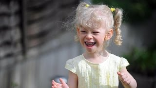 Download Rare Condition Makes Little Girl Extremely Friendly Video