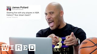 Download LaVar Ball Answers Basketball Questions From Twitter | Tech Support | WIRED Video