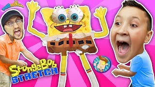 Download Annoying Sponge Toy Stretch Test! (FUNnel Vision Stretchkins Dance Plushies) Video