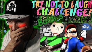 Download Vapor Reacts #652 | TRY NOT TO LAUGH CHALLENGE ″If Mario was in Baldi's Basics″ by SMG4 REACTION!! Video