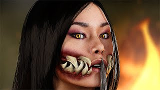 Download Mortal Kombat 11 - Shao Kahn Find Out What Happened to Mileena (MK11) Video