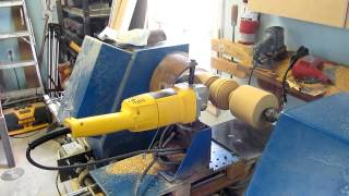 Download Tour à bois numérique, cnc homemade wood lathe Video