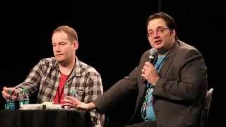 Download Fantasy Authors Brandon Mull and Brandon Sanderson Video