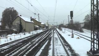 Download Führerstandsmitfahrt Passau-Würzburg Teil1/2 Video