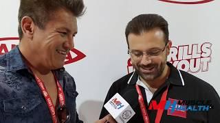 Download Edoardo Panatta - interview - Arnold Classic Europe 2018 Video