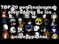 Download TOP 20 personajes mas aterradores de los creepypastas Video