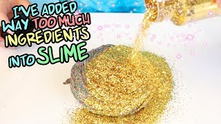 Download ADDING TOO MUCH INGREDIENTS IN SLIMES! Best slime ever? Slimeatory #447 Video