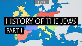 Download History of the Jews - summary from 750 BC to Israel-Palestine conflict Video