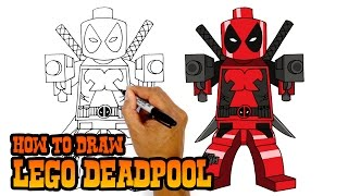 Download How to Draw Lego Deadpool | Drawing Lesson Video