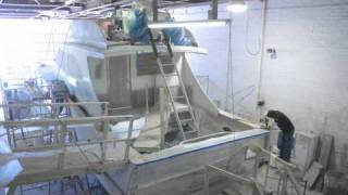 Download Jeff Burton 46' Boat Construction Time Lapse (4 of 4) Video