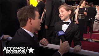 Download Jacob Tremblay On Oscars, Selfies & Celeb Crushes | Access Hollywood Video