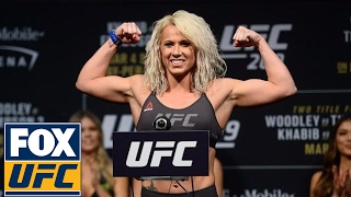 Download Full Weigh-In: Woodley vs. Thompson | UFC ON FOX Video
