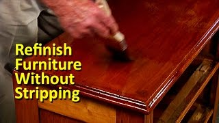 Download Refinish Furniture Without Stripping Video