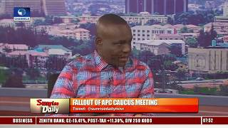Download Caucus Meeting: APC, PDP Debate Allegations Against REC, Security Concerns Pt.2 Video
