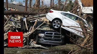 Download Storm Michael: 155mph winds leave trail of devastation - BBC News Video