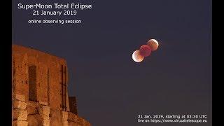 "Download 21 Jan. 2019 SuperMoon total eclipse"" – 21 Jan. 2019 Video"