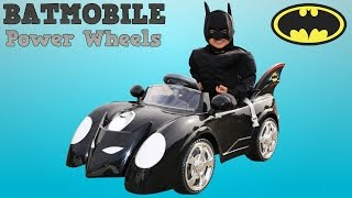 Download Unboxing New Batman Battery-Powered Ride On Batmobile 6V Test Drive Park Playtime Fun Ckn Toys Video