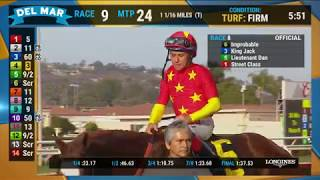 Download Improbable wins the Shared Belief Stakes (Race 8) at Del Mar 08/25/19 Video