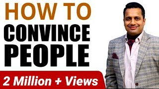 Download How to Convince People Convincing Skills in Hindi by Vivek Bindra Video