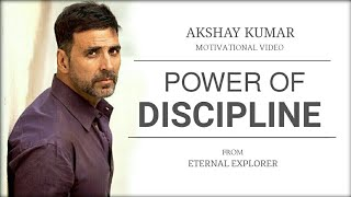 Download 'POWER OF DISCIPLINE' (ft. Akshay Kumar) - Motivational video | Akshay Kumar Inspirational speech Video