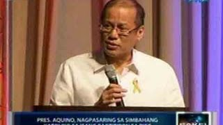 Download Saksi: Pres. Aquino, nagpasaring sa simbahang katoliko Video
