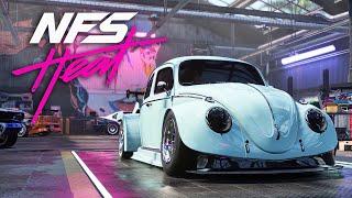 Download VW BEETLE BUILD & ENGINE SWAP - NEED FOR SPEED HEAT Gameplay Walkthrough Part 16 (Full Game) Video