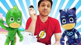 Download Video educativi con giocattoli. PJ Masks Super Pigiamini e PlayDoh. Giochi per bambini. Video