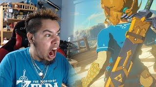 Download ZELDA BREATH OF THE WILD - GAME AWARDS 2016 TRAILER REACTION! Video