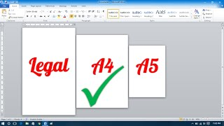 Download How to Make Different Page Sizes in Microsoft Word Video