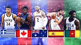 Download BEST NBA PLAYER FROM EACH COUNTRY Video