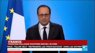 Download URGENT ″J'ai décidé de ne pas être candidat à l'élection présidentielle″ : François Hollande Video