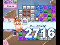 Download Candy Crush Saga Level 2716 (3 stars, No boosters) Video